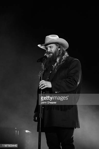 Chris Stapleton performs onstage during the 53rd annual CMA Awards at the Bridgestone Arena on November 13 2019 in Nashville Tennessee