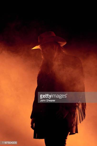 Chris Stapleton performs onstage during the 53rd annual CMA Awards at the Bridgestone Arena on November 13, 2019 in Nashville, Tennessee.