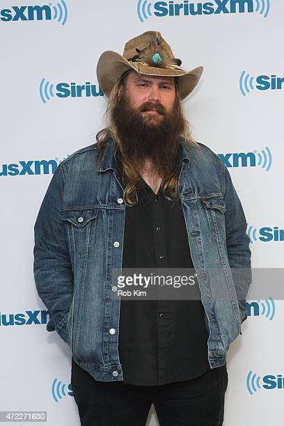 Chris Stapleton visits at SiriusXM Studios on May 5, 2015 in New York City.