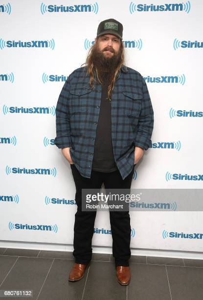Chris Stapleton visits at SiriusXM Studios on May 9 2017 in New York City
