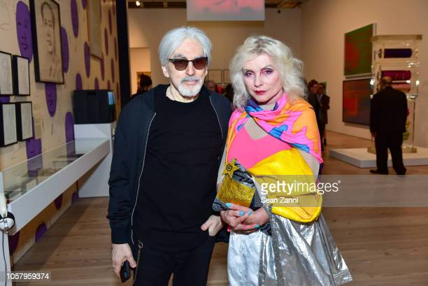 Chris Stein and Debbie Harry attend Exhibition Preview And Dinner For Andy Warhol From A To B And Back Again Hosted By Sotheby at The Whitney Museum...