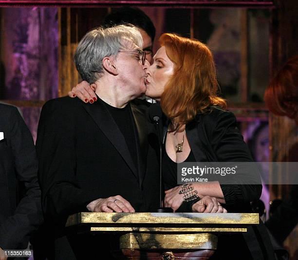 Chris Stein and Debbie Harry of Blondie inductees