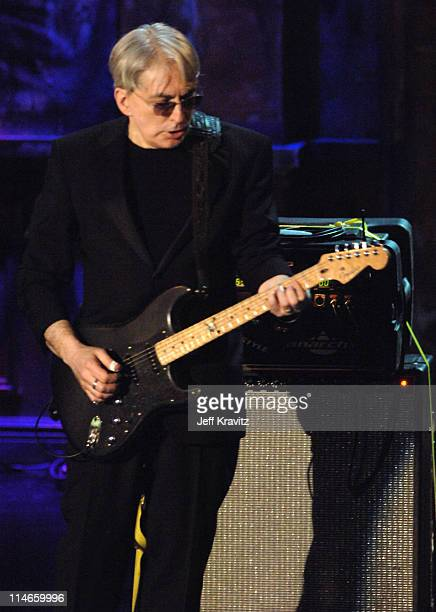 Chris Stein of Blondie inductee during 21st Annual Rock and Roll Hall of Fame Induction Ceremony Show at The WaldorfAstoria in New York City New York...