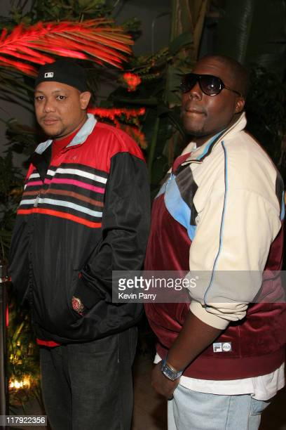 Chris Sterling and Jamaal Warren during And1 Mixtape Tour Volume 9 Premiere After Party at White Orchid in Hollywood California United States