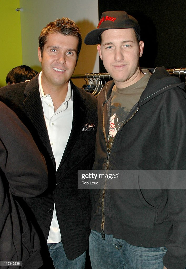 Big Drop for Men Store Opening in New York - November 2, 2005 : News Photo