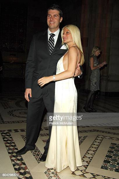 Chris Stern and Lizzie Grubman attend LIZZIE GRUBMAN and CHRIS STERN Wedding Reception at Cipriani 42nd on March 18 2006 in New York City
