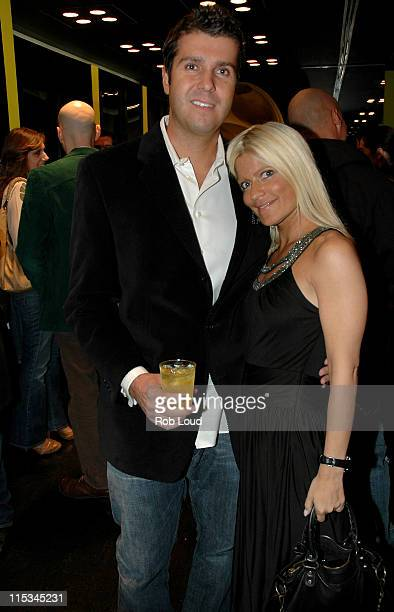 Chris Stern and Lizzie Grubman during Big Drop for Men Store Opening in New York November 2 2005 at Big Drop Store Opening in New York New York...