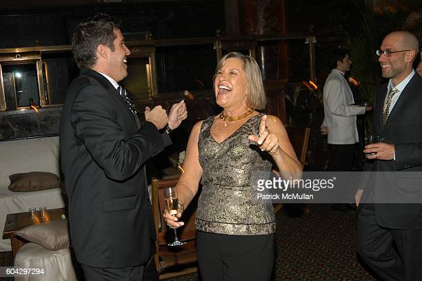 Chris Stern and Sally Richardson attend LIZZIE GRUBMAN and CHRIS STERN Wedding Reception at Cipriani 42nd on March 18 2006 in New York City