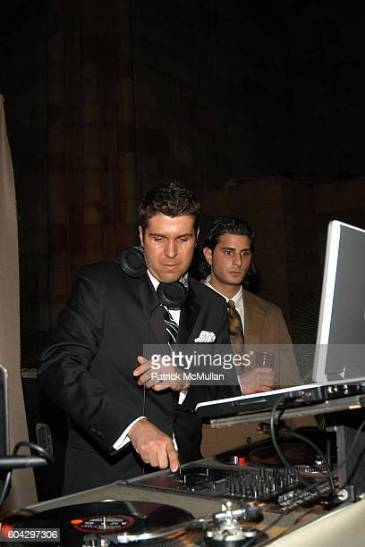 Chris Stern attends LIZZIE GRUBMAN and CHRIS STERN Wedding Reception at Cipriani 42nd on March 18 2006 in New York City