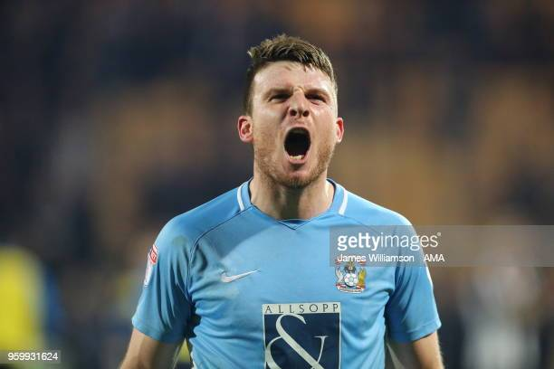 Chris Stokes of Coventry City at full time during the Sky Bet League Two Play Off Semi FinalSecond Leg between Notts County and Coventry City at...