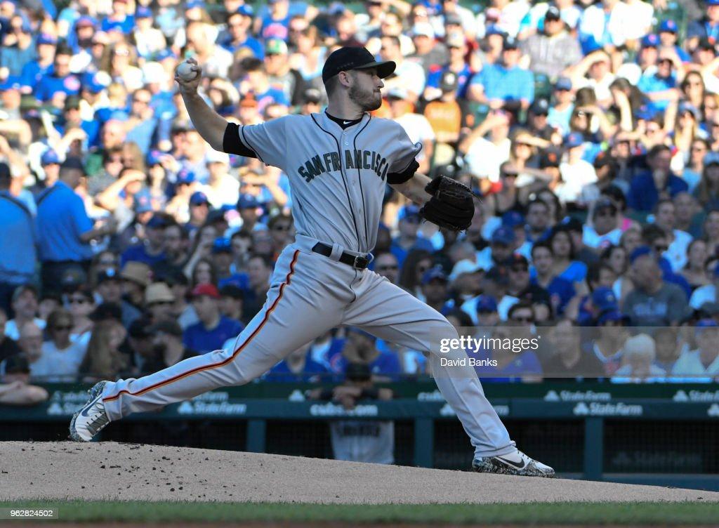 San Franciso Giants  v Chicago Cubs