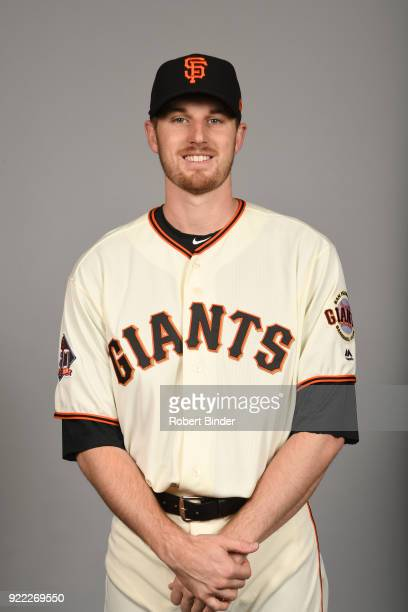 Chris Stratton of the San Francisco Giants poses during Photo Day on Tuesday February 20 2018 at Scottsdale Stadium in Scottsdale Arizona