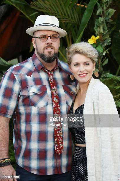 Chris Sullivan and Rachel Reichard arrive to the Los Angeles premiere of Universal Pictures and Amblin Entertainment's Jurassic World Fallen Kingdom...