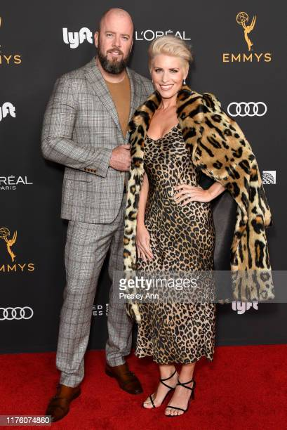 Chris Sullivan and Rachel Reichard attend the Television Academy honors Emmy nominated performers at Wallis Annenberg Center for the Performing Arts...