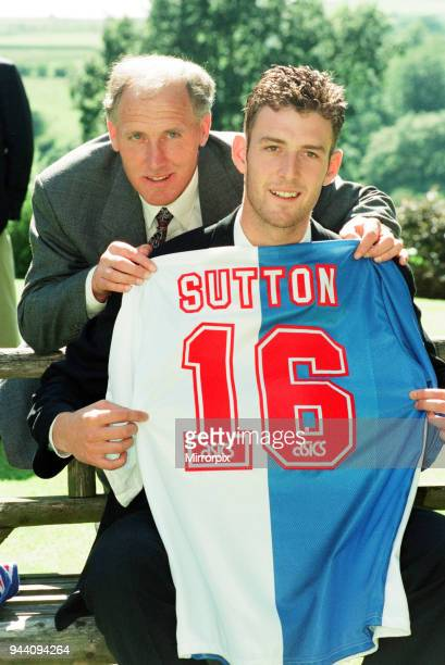Chris Sutton signs for Blackburn Rovers the deal worth £5 million breaks the British transfer record Friday 15th July 1994 The 21 year old England B...