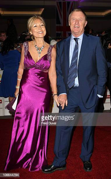 Chris Tarrant and Jane Bird arrive at Pride of Britain Awards at Grosvenor House on November 8 2010 in London England