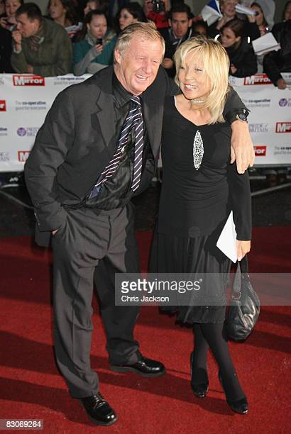 Chris Tarrant and Jane Bird arrive at the Pride of Britain Awards at Television Centre on September 30 2008 in London England