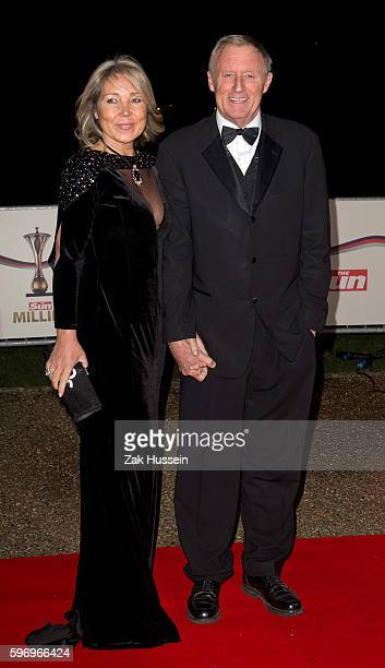 Chris Tarrant and Jane Bird arriving at A Night Of Heroes The Sun Military Awards at National Maritime Museum in London