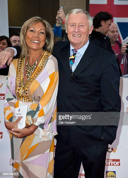 Chris Tarrant and Jane Bird arriving at the 2015 Pride of Britain Awards at the Grosvenor House Hotel in London