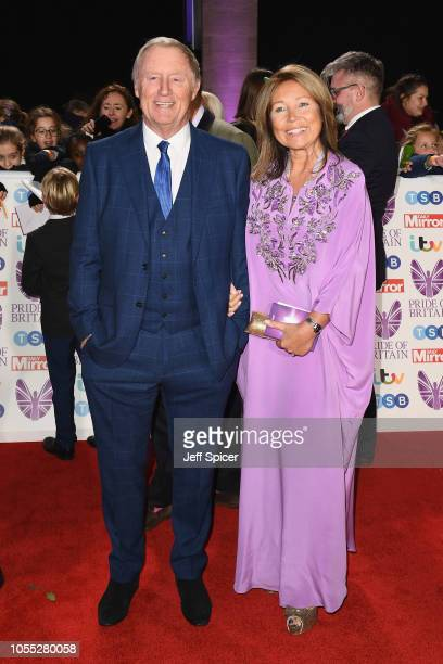 Chris Tarrant and Jane Bird attend the Pride of Britain Awards 2018 at The Grosvenor House Hotel on October 29 2018 in London England