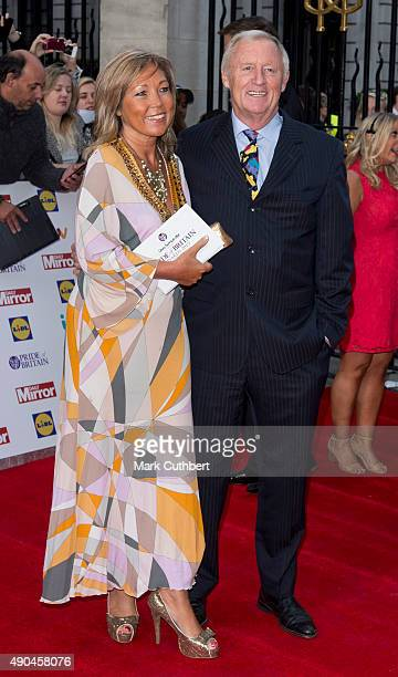 Chris Tarrant and Jane Bird attend the Pride of Britain awards at The Grosvenor House Hotel on September 28 2015 in London England
