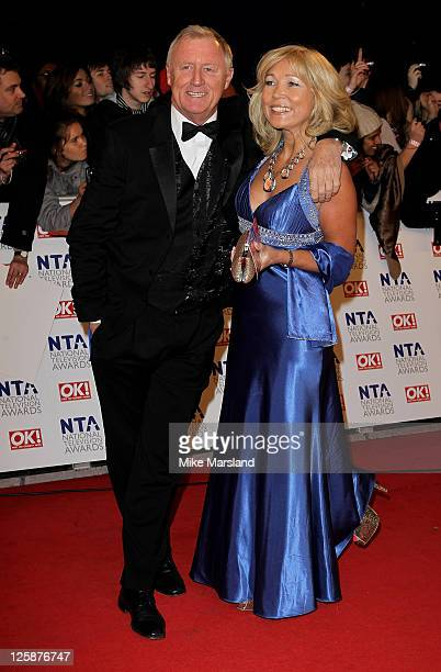 Chris Tarrant and Jane Bird attend the The National Television Awards at the O2 Arena on January 26 2011 in London England