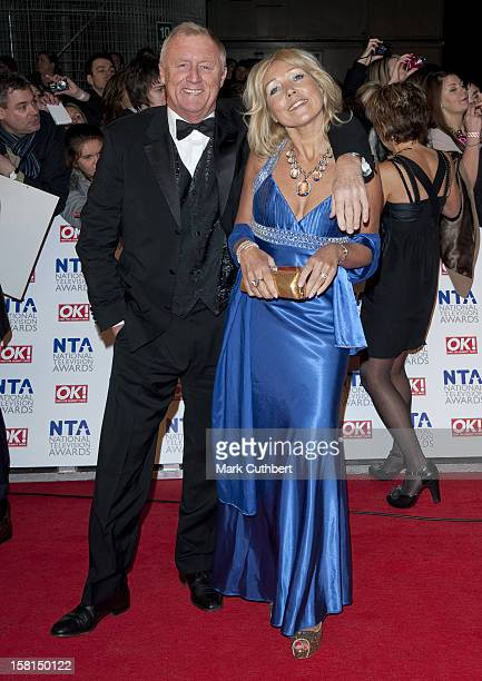 Chris Tarrant And Partner Jane Bird Arriving For The 2011 National Television Awards At The O2 Arena London