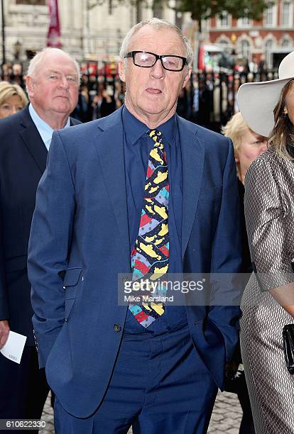 Chris Tarrant attends a memorial service for the late Sir Terry Wogan at Westminster Abbey on September 27 2016 in London England