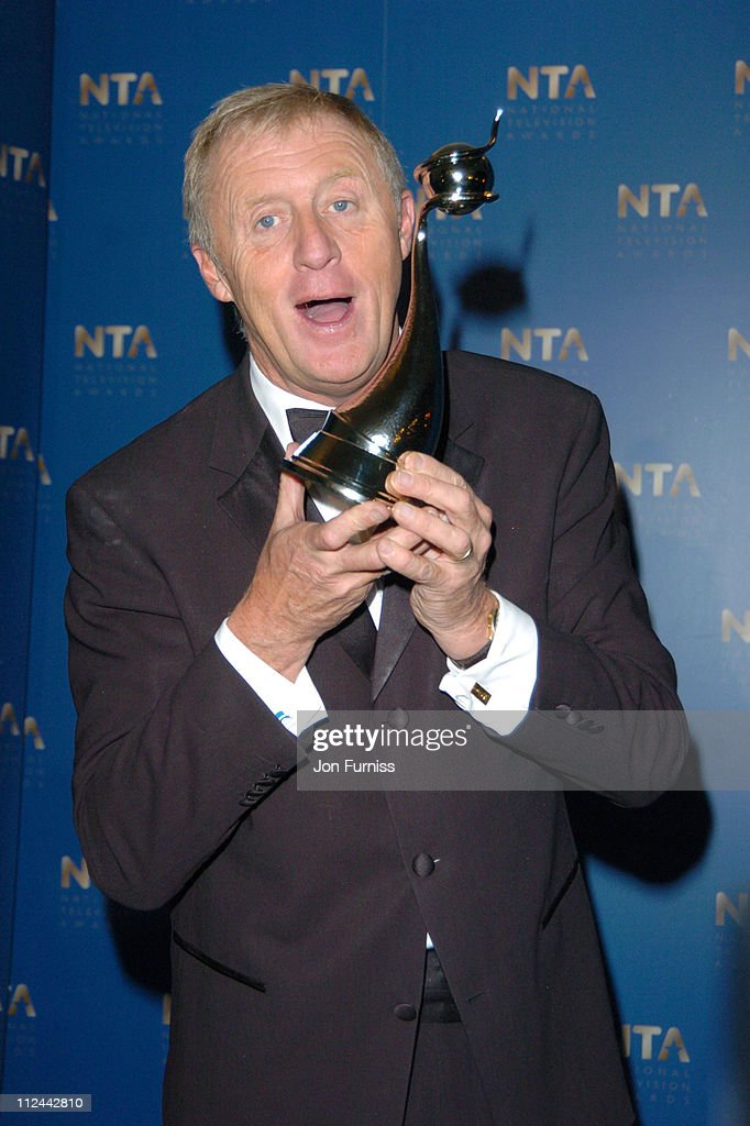 Chris Tarrant during 2004 National Television Awards - Pressroom at Royal Albert Hall in London, Great Britain.