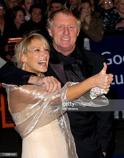 Chris Tarrant OBE and wife during National Television Awards 2005 at Royal Albert Hall London in London United Kingdom