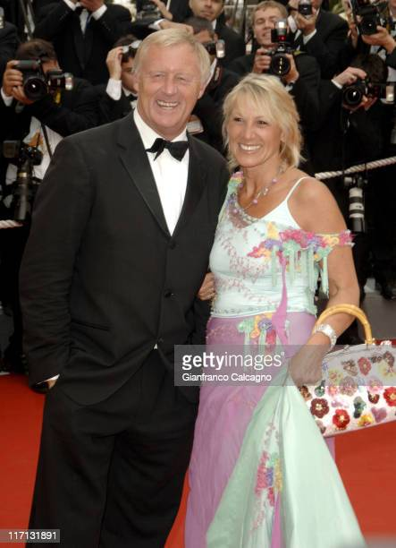 Chris Tarrant with his wife Ingrid during 2006 Cannes Film Festival Paris Je t'aime Premiere at Grand Theatre Lumiere in Cannes France