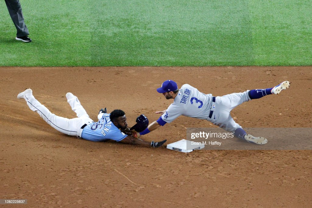 World Series - Los Angeles Dodgers v Tampa Bay Rays - Game Five : News Photo