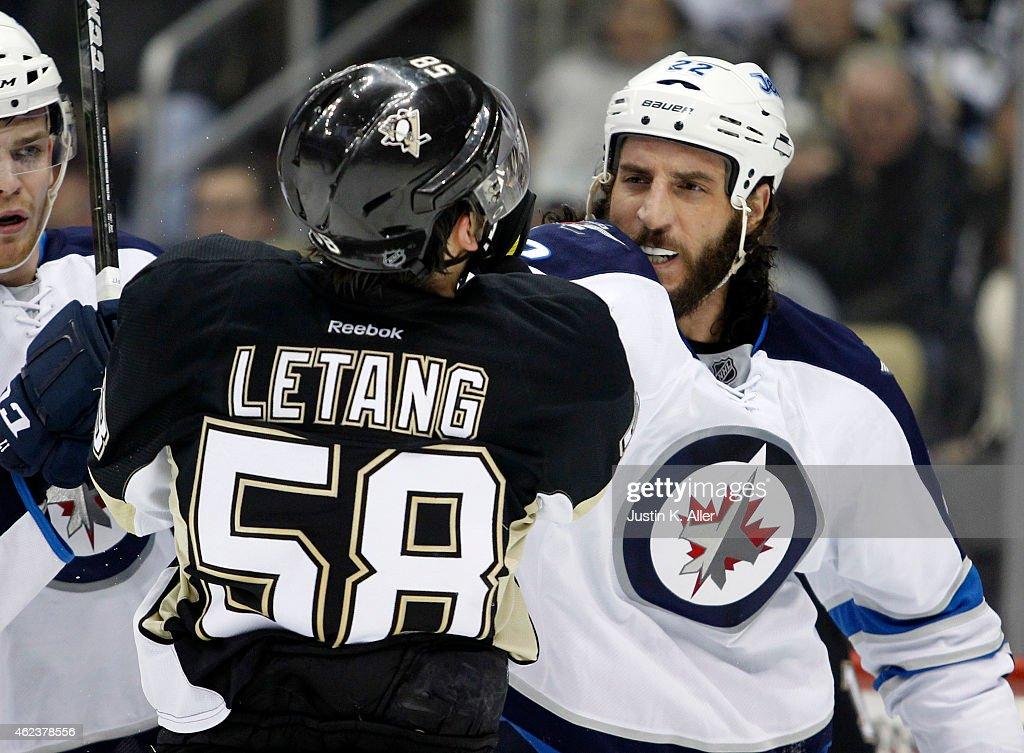 Winnipeg Jets v Pittsburgh Penguins : News Photo