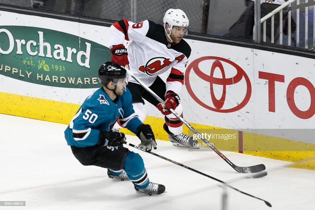 New Jersey Devils v San Jose Sharks