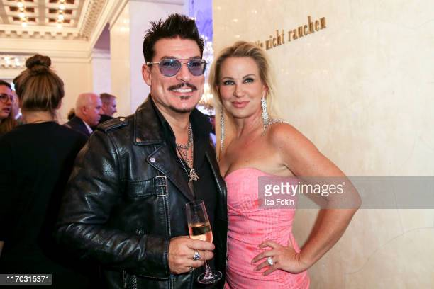 Chris Toepperwien and Claudia Norberg at the premiere of Mamma Mia Das Musical at Stage Theater des Westens on September 22 2019 in Berlin Germany