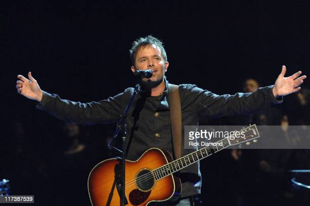 Chris Tomlin, Winner Artist of the Year during 38th Annual GMA DOVE Awards - Show at Grand Old Opry in Nashville, Tennessee, United States.