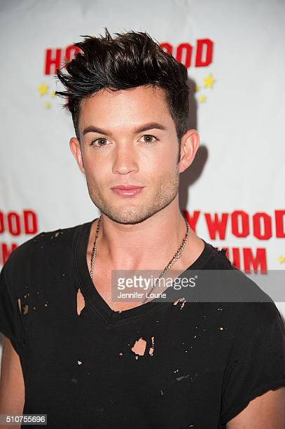 Chris Trousdale arrives at the The Hollywood Museum and The Hollywood Reporter present The Awards Exhibit at The Hollywood Museum on February 16 2016...