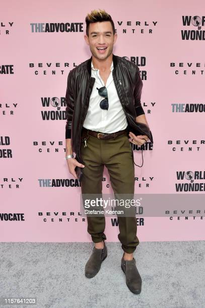 Chris Trousdale attends Beverly Center x The Advocate x World of Wonder Pride Event at Beverly Center on June 22 2019 in Los Angeles California