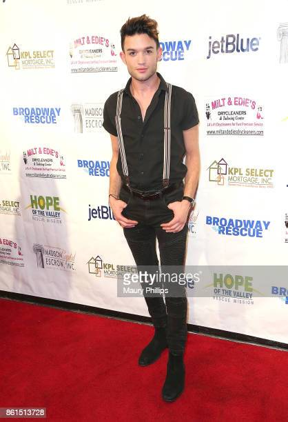 Chris Trousdale attends Broadway to The Rescue a benefit for the homeless at The Montalban Theater on October 14 2017 in Los Angeles California