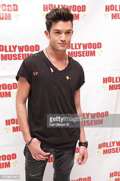 Chris Trousdale attends The Hollywood Museum Presents Celebration Of Entertainment Awards Special Award Season Exhibition Gala Opening at The...
