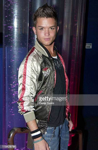 Chris Trousdale during Keith Collins 2006 Celebrity Tourette Syndrome Fundraiser at Quo in New York City New York United States