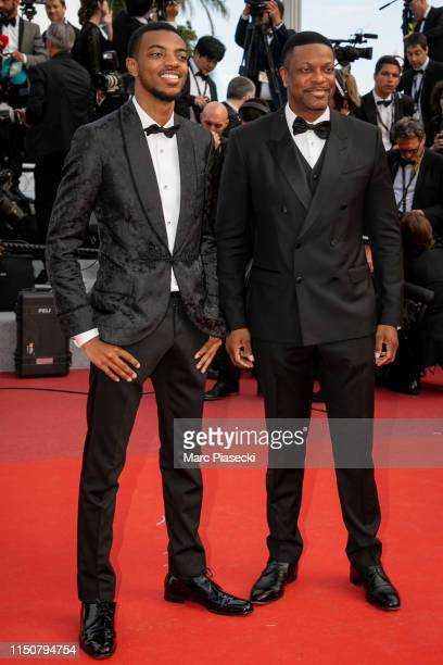 Chris Tucker and his son Destin Christopher Tucker attend the screening of Once Upon A Time In Hollywood during the 72nd annual Cannes Film Festival...