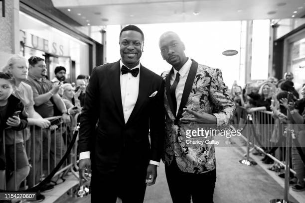Chris Tucker and Jay Pharoah attend the 47th AFI Life Achievement Award honoring Denzel Washington at Dolby Theatre on June 06 2019 in Hollywood...