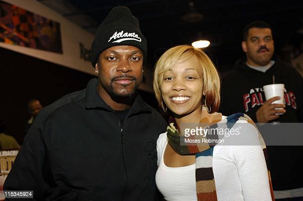 Chris Tucker and Monica during 14th Annual Ryan Cameron Celebrity Bowling Challenge at Atlanta Fun Center in Stone Mountain Georgia United States