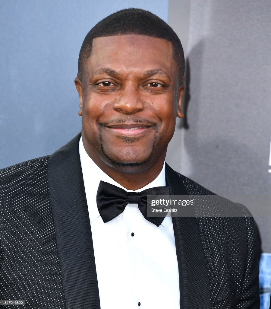 Chris Tucker arrives at the Premiere Of EuropaCorp And STX Entertainment's 'Valerian And The City Of A Thousand Planets' at TCL Chinese Theatre on July 17, 2017 in Hollywood, California.