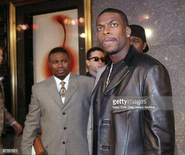 Chris Tucker attending MTV Awards at Radio City Music Hall