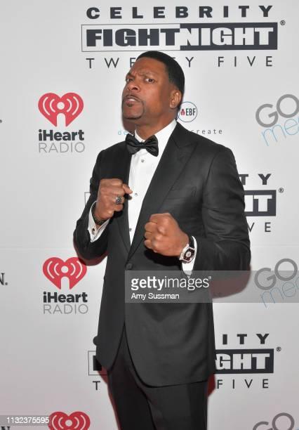 Chris Tucker attends Celebrity Fight Night XXV on March 22 2019 in Phoenix Arizona