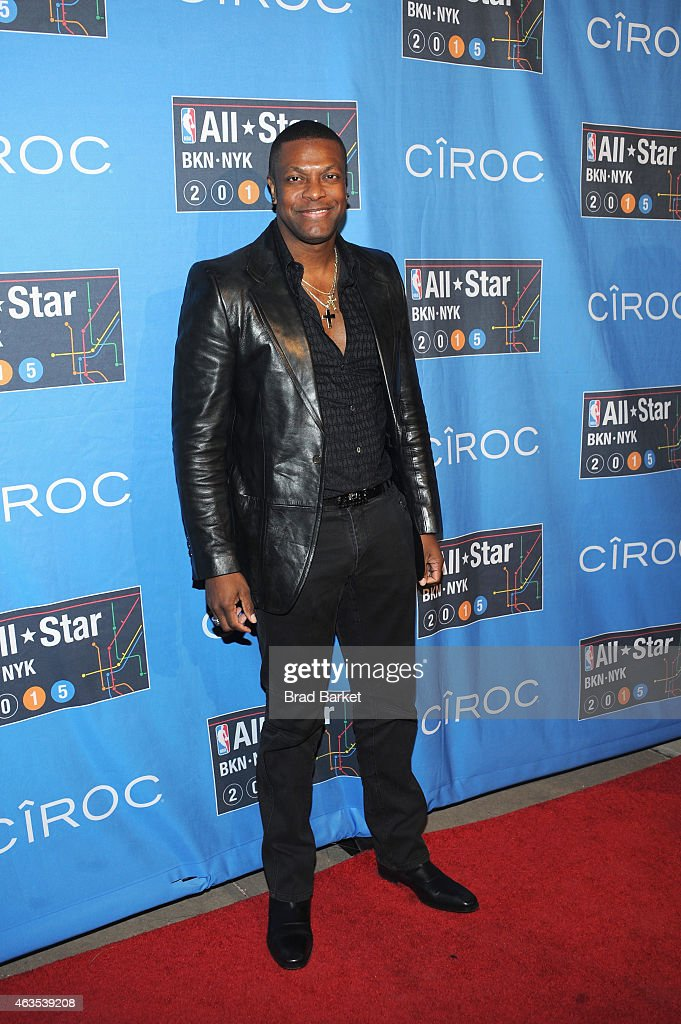 Celebrities Attend The 64th NBA All-Star Game 2015