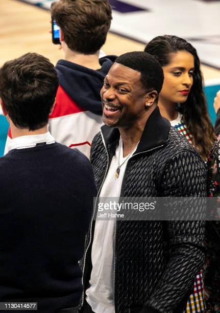Chris Tucker attends the 68th NBA AllStar Game on February 17 2019 in Charlotte North Carolina