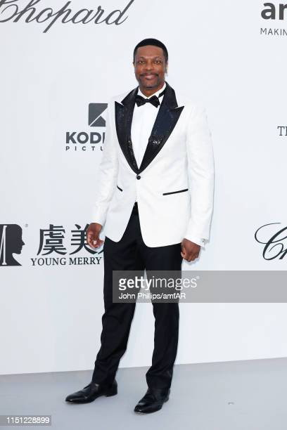 Chris Tucker attends the amfAR Cannes Gala 2019 at Hotel du CapEdenRoc on May 23 2019 in Cap d'Antibes France